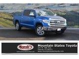 2017 Blazing Blue Pearl Toyota Tundra 1794 CrewMax 4x4 #117841706