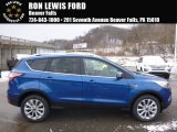 2017 Lightning Blue Ford Escape Titanium 4WD #117841779