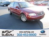 2002 Volkswagen Passat Colorado Red Pearl