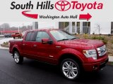 2013 Ruby Red Metallic Ford F150 Limited SuperCrew 4x4 #117867321