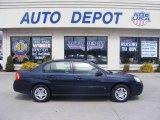 2007 Dark Blue Metallic Chevrolet Malibu LS Sedan #11764468