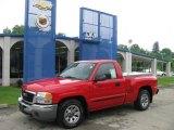 2005 Fire Red GMC Sierra 1500 Regular Cab #11763240