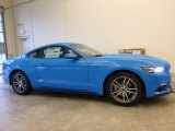 2017 Grabber Blue Ford Mustang Ecoboost Coupe #117867329