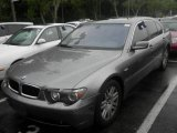 2003 Titanium Grey Metallic BMW 7 Series 745i Sedan #117867363