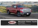 2017 Barcelona Red Metallic Toyota Tundra Limited Double Cab 4x4 #117890713