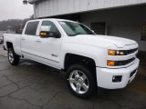 Summit White Chevrolet Silverado 2500HD in 2017