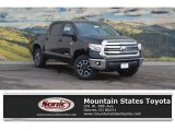 2017 Midnight Black Metallic Toyota Tundra SR5 CrewMax 4x4 #117890710