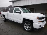 Summit White Chevrolet Silverado 1500 in 2017