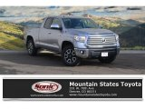2017 Silver Sky Metallic Toyota Tundra Limited Double Cab 4x4 #117890701
