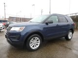 2017 Ford Explorer FWD Front 3/4 View