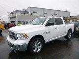 2017 Bright White Ram 1500 Big Horn Crew Cab 4x4 #117890815