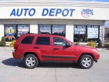 2006 Inferno Red Crystal Pearl Jeep Grand Cherokee Laredo 4x4 #11764450