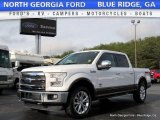 2015 White Platinum Tricoat Ford F150 King Ranch SuperCrew 4x4 #117890646