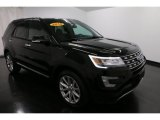 2016 Shadow Black Ford Explorer Limited 4WD #117890625