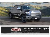 2017 Midnight Black Metallic Toyota Tundra Limited CrewMax 4x4 #117890720