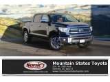 2017 Midnight Black Metallic Toyota Tundra 1794 CrewMax 4x4 #117890716