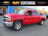2017 Red Hot Chevrolet Silverado 1500 LT Crew Cab 4x4 #117910508