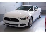 2017 Oxford White Ford Mustang V6 Convertible #117910556