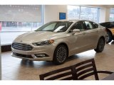 2017 White Gold Ford Fusion SE AWD #117910555