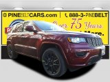2017 Velvet Red Pearl Jeep Grand Cherokee Laredo 4x4 #117910438