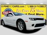 2014 Summit White Chevrolet Camaro LS Coupe #117910435