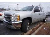 2013 Silver Ice Metallic Chevrolet Silverado 1500 LS Extended Cab #117910528