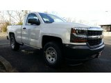 2017 Summit White Chevrolet Silverado 1500 WT Regular Cab #117910424