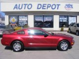 2007 Redfire Metallic Ford Mustang V6 Deluxe Coupe #11764453