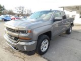 2017 Pepperdust Metallic Chevrolet Silverado 1500 LT Double Cab 4x4 #117910487
