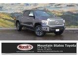 2017 Magnetic Gray Metallic Toyota Tundra Limited CrewMax 4x4 #117910390