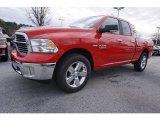 2017 Flame Red Ram 1500 Big Horn Quad Cab #117937058