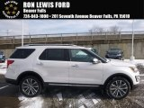 2017 White Platinum Ford Explorer Platinum 4WD #117963919
