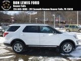 2017 Oxford White Ford Explorer XLT 4WD #117963918