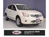 2013 Pearl White Nissan Rogue S #117963994