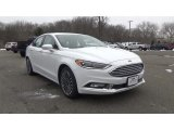 2017 Oxford White Ford Fusion SE #117986341