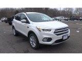 2017 White Platinum Ford Escape SE 4WD #117986338