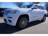 2017 Bright White Jeep Grand Cherokee Summit 4x4 #117987256