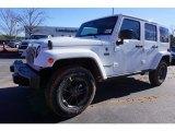 2017 Bright White Jeep Wrangler Unlimited Sahara 4x4 #117987255