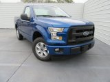 2017 Ford F150 XL Regular Cab Front 3/4 View