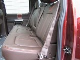 2017 Ford F150 King Ranch SuperCrew 4x4 Rear Seat
