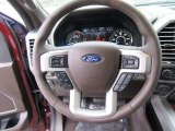 2017 Ford F150 King Ranch SuperCrew 4x4 Steering Wheel