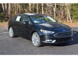 2017 Shadow Black Ford Fusion Titanium AWD #117987364