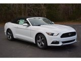 2017 Oxford White Ford Mustang V6 Convertible #117987360