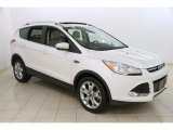 2014 White Platinum Ford Escape Titanium 2.0L EcoBoost 4WD #117987379