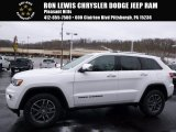 2017 Bright White Jeep Grand Cherokee Limited 4x4 #118008577