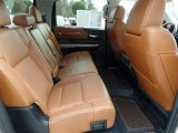 2016 Toyota Tundra 1794 CrewMax 4x4 Rear Seat