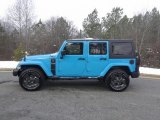 2017 Chief Blue Jeep Wrangler Unlimited Freedom Edition 4x4 #118008317
