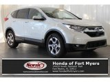 2017 White Diamond Pearl Honda CR-V EX-L #118008380