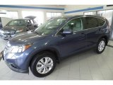 2014 Twilight Blue Metallic Honda CR-V EX AWD #118032690