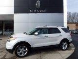 2011 White Platinum Tri-Coat Ford Explorer Limited 4WD #118032500